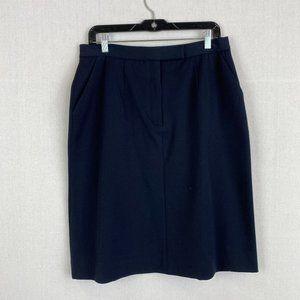 HOLT RENFREW Collection Blue Skirt